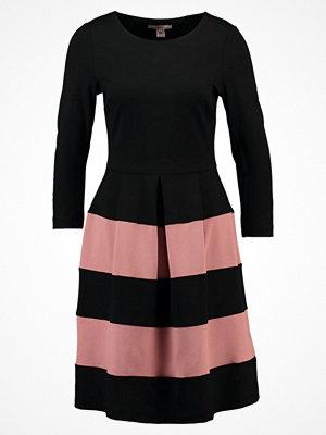Anna Field Jerseyklänning black/ash rose
