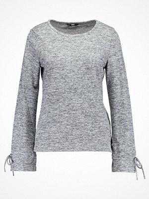 Only ONLELCOS  Stickad tröja dark grey melange