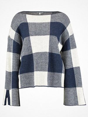 mint&berry Stickad tröja dark blue, off white