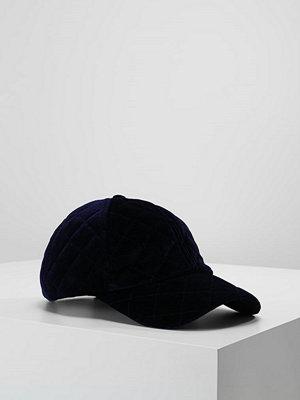 Only ONLBELLISA VELVET QUILT CAP Keps blue
