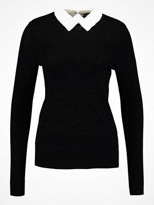 Dorothy Perkins COLLAR JUMPER  Stickad tröja black