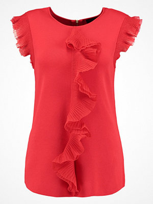 Ted Baker YSABEL FRILL DETAIL  Tshirt med tryck red