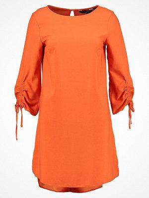 Dorothy Perkins ROUCHED SLEEVE SHIFT DRESS Sommarklänning orange