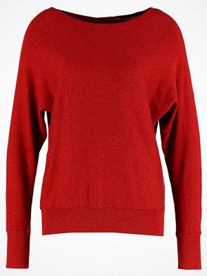 Only ONLSOFTY BOATNECK  Stickad tröja red