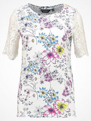 Dorothy Perkins Tall FLORAL LACE SLEEVE DETAIL Tshirt med tryck ivory