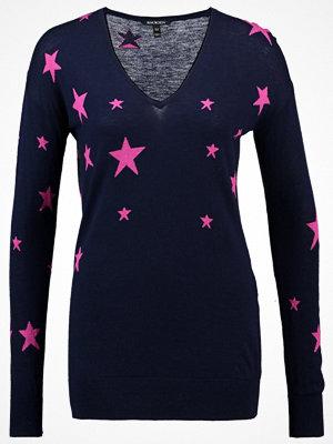 Baukjen LOXLEY Stickad tröja darkest navy and bright pink