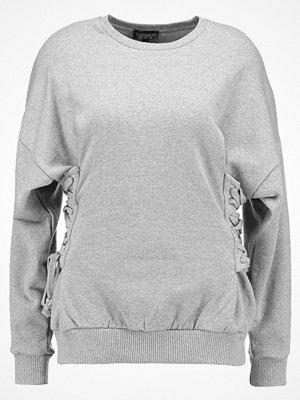 Topshop CORSET SIDE  Sweatshirt grey marl