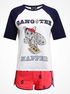 Pyjamas & myskläder - Topshop GANGSTA NAPPER SET Pyjamas navyblue