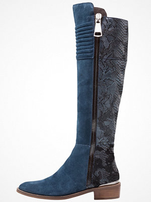 Stövlar & stövletter - Alma en Pena Overkneeskor cosmos blue