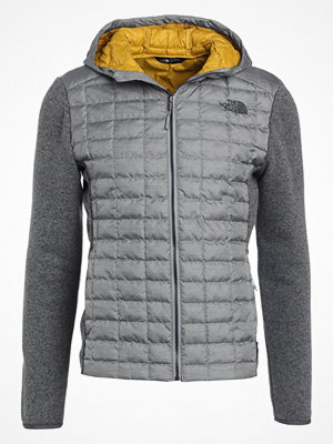 Regnkläder - The North Face THERMOBALL HYBRID Outdoorjacka light grey/grey/mustard yellow