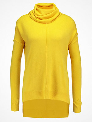 Noisy May NMCHEN ROLL NECK Stickad tröja nugget gold