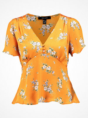 New Look COVERED PRINT Blus yellow