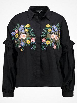 Topshop FOREST FLORAL  Skjorta black