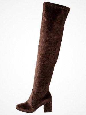 Glamorous Overkneeskor brown