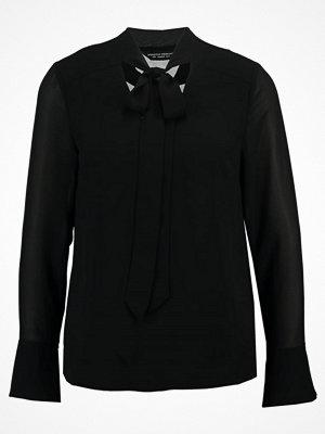 Dorothy Perkins STEVIE PLAIN PUSSYBOW Blus black