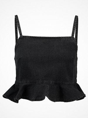 Topshop Linne washed black