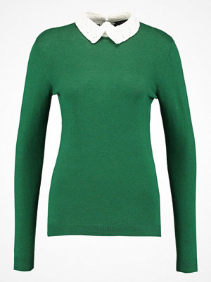 Dorothy Perkins COLLAR JUMPER  Stickad tröja green