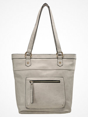 Anna Field omönstrad shopper Shoppingväska grey