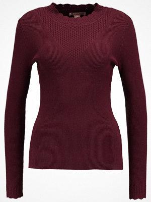 Anna Field Stickad tröja winetasting
