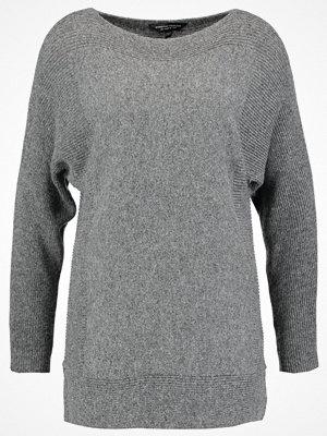Dorothy Perkins RIBBED PANEL BATWING Stickad tröja grey