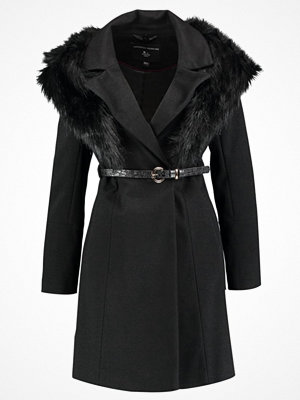 Dorothy Perkins BELTED COAT Kappa / rock black