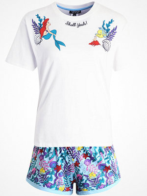 Pyjamas & myskläder - Topshop ARIEL SHELLYEAH SET Pyjamas white