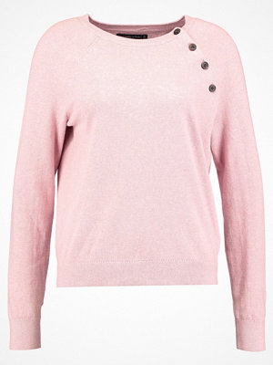 Abercrombie & Fitch BELL SLEEVE Stickad tröja pink