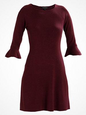 Dorothy Perkins FLUTE SLEEVE  Stickad klänning red