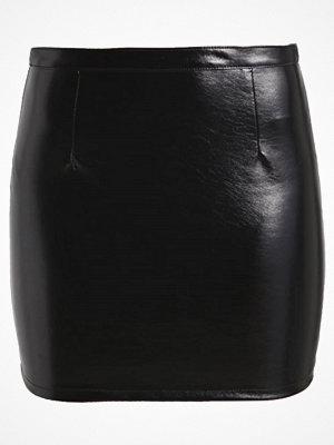 Only ONLCARO GLAZED  Minikjol black