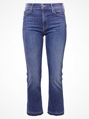 Mother THE INSIDER CROP UNDONE Jeans bootcut blue denim