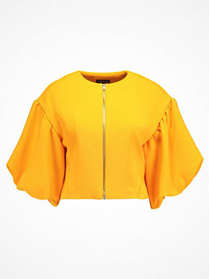 Topshop PUFF SLEEVE  Tunn jacka orange