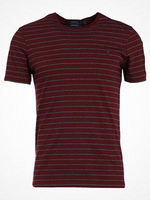 Polo Ralph Lauren SLIM FIT Tshirt med tryck fall burgundy/wine