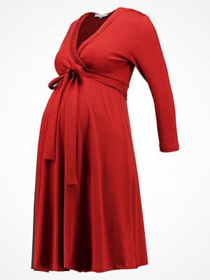 Anna Field MAMA MAMA Jerseyklänning cognac