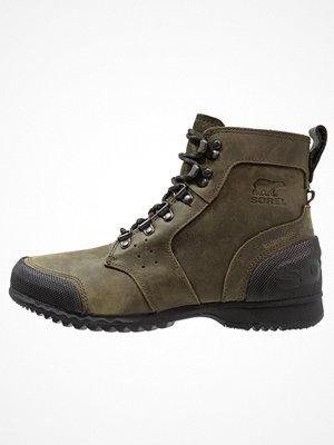 Boots & kängor - Sorel ANKENY Snörstövletter nori/black