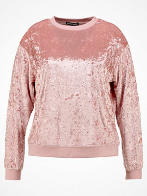 Second Script Curve MOL Sweatshirt pink blush
