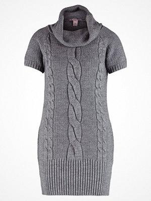 Anna Field Stickad klänning grey