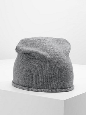 Mössor - Only ONLNAUTICAL KNIT HAT ACC Mössa light grey melange