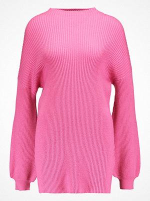 Vero Moda VMELLA BALOON SLEEVE Stickad tröja azalea pink