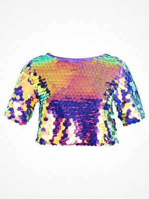 New Look LARGE SEQUIN Blus pink