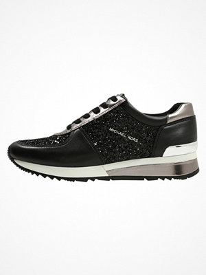 Sneakers & streetskor - MICHAEL Michael Kors ALLIE WRAP Sneakers black/gunmetal