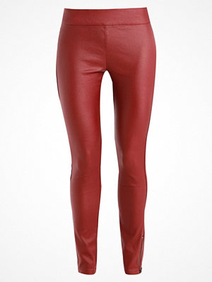 Cream BELUS KATY Leggings red darken