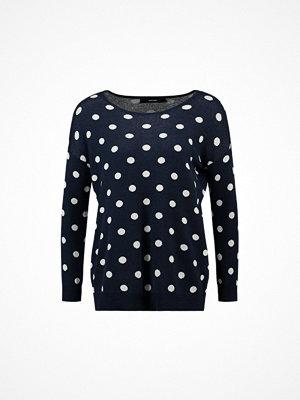 Vero Moda Petite VMDOTTY OVERSIZE BOATNECK Stickad tröja navy blazer