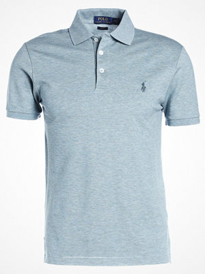 Polo Ralph Lauren SLIM FIT Piké biscay blue heather