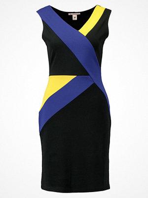 Anna Field Jerseyklänning surf the web/black/yellow