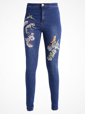 Lost Ink B&&B EMBROIDERY Jeans Skinny Fit mid denim