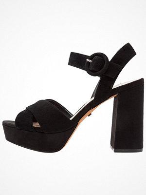 Topshop LUXE X STRAP  Sandaletter black