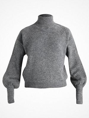 Even&Odd Stickad tröja  mottled grey