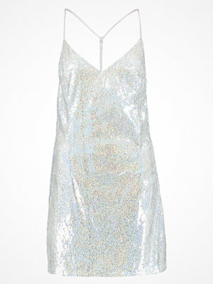 Missguided B&&B HOLOGRAPHIC SEQUIN  Cocktailklänning silver