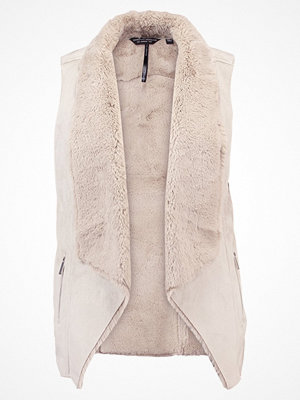 Dorothy Perkins SHEARLING  Väst light brown