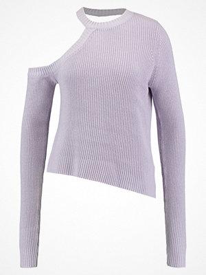 Even&Odd Stickad tröja lilac